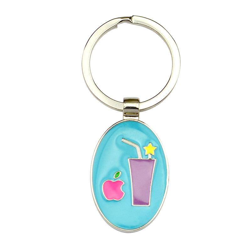 Factory Key Chains Supplier Enamel Metal Keychains Wholesale