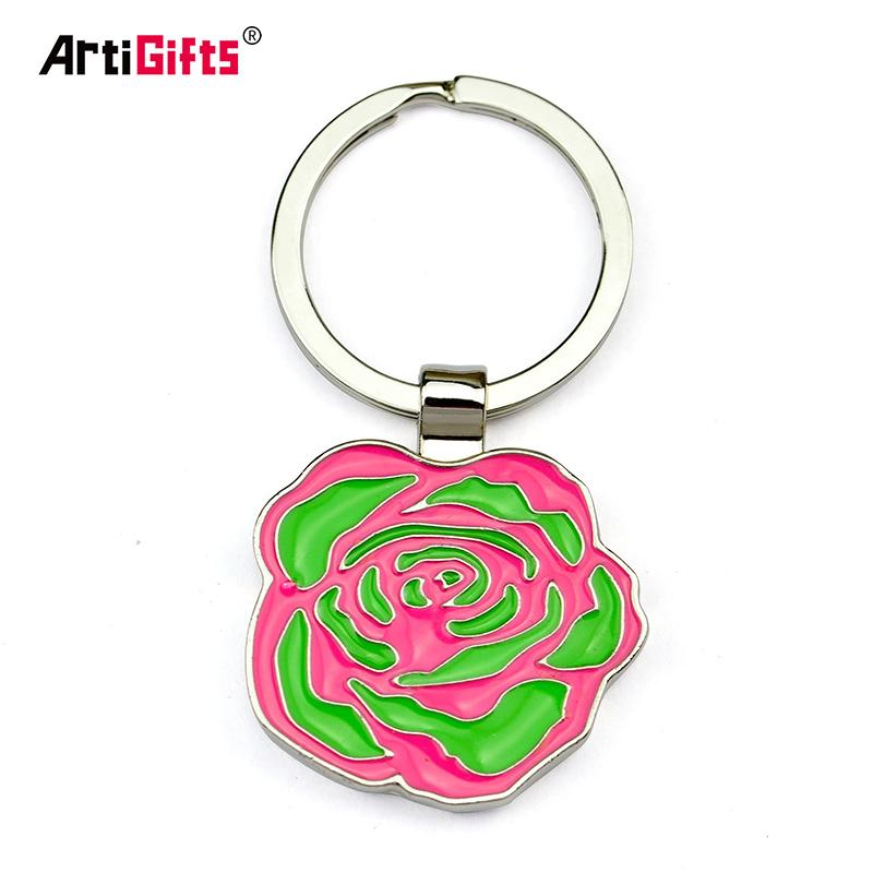 Keyring Maker Supplier No Minimum Custom Key Chain Promotion