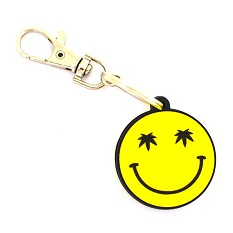 Wholesale Keychain Factory Custom Soft Pvc Emoji Keyholder