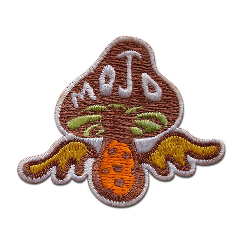 Wholesale Clothes Woven Patch Custom Hand Made Embroidery Badge