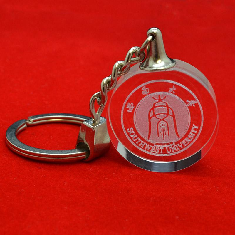 Wholesale Keychain Factory Custom Bulk Cheap Crystal Key Ring