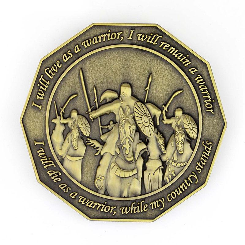 Custom Souvenir Antique Coin Metal Old British Indian Coin