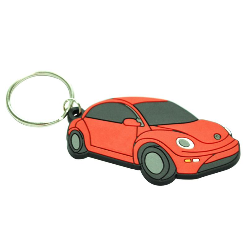 Wholesale Keyring Soft Pvc Key Chain Custom Rubber Keychain