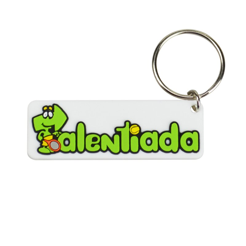 Custom Plastic Key Chain Rubber Pvc Number Plate Keychain