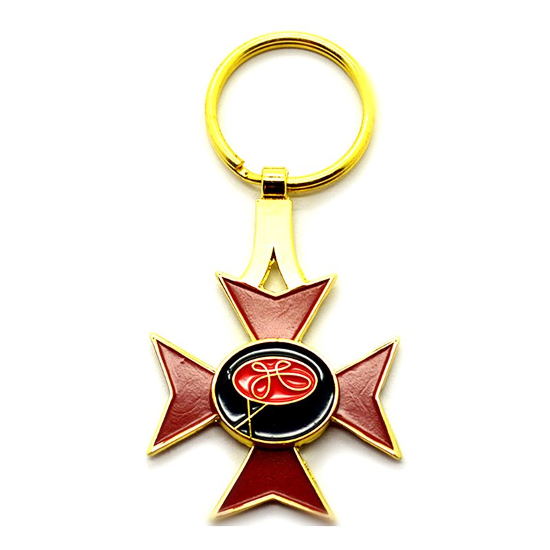 Wholesale Keychains Factory Custom Metal Key Ring Sublimation