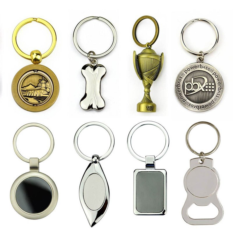 Design Make Your Own Custom Keychain Metal Key Ring Materials