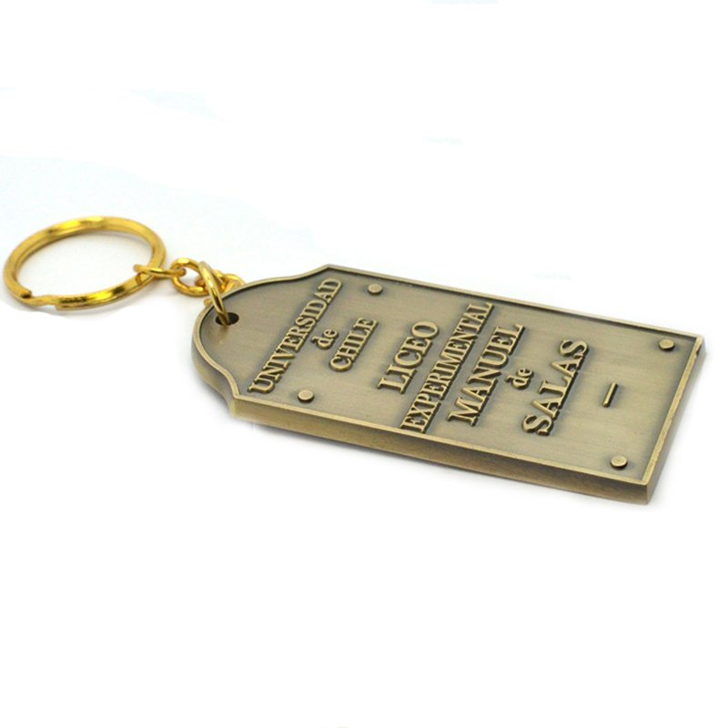 Wholesale Custom Bulk Key Chain Metal Name Tag Nurse Keychain