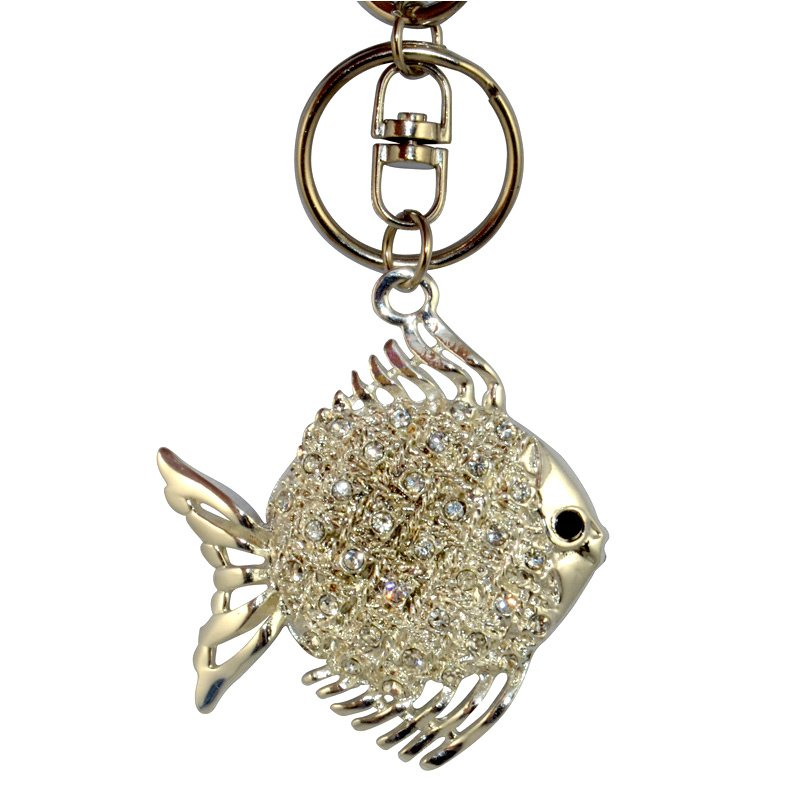 Wholesale Key Ring Metal Key Chain Custom Keychain Diamond
