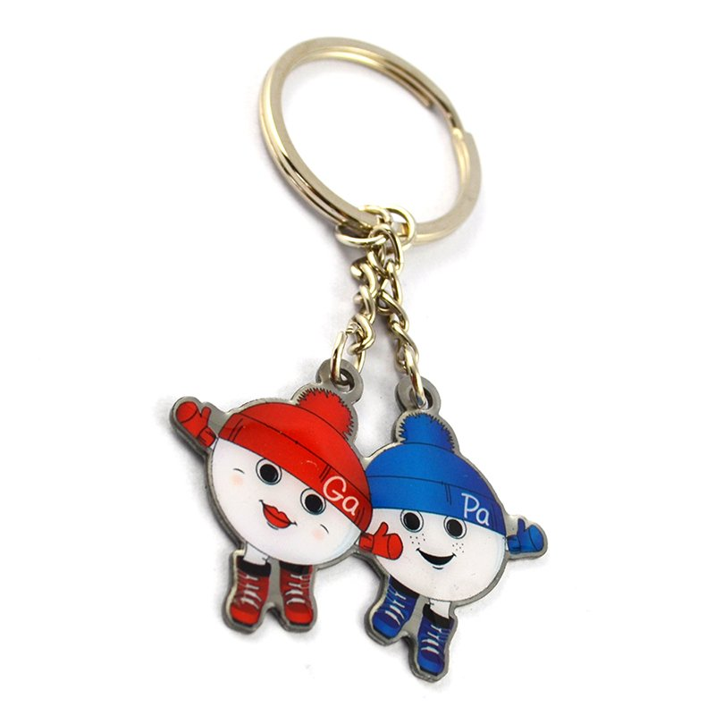 Artigifts Wholesale Keychains Custom Keyring With Custom Logo