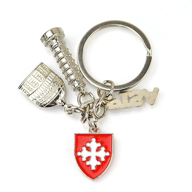 Italy Souvenir Metal Keychain Custom Design Key Chain