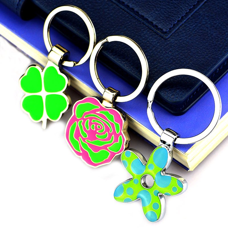 Keychain Metal Car Logo Key Chain Custom Enamel Key Ring