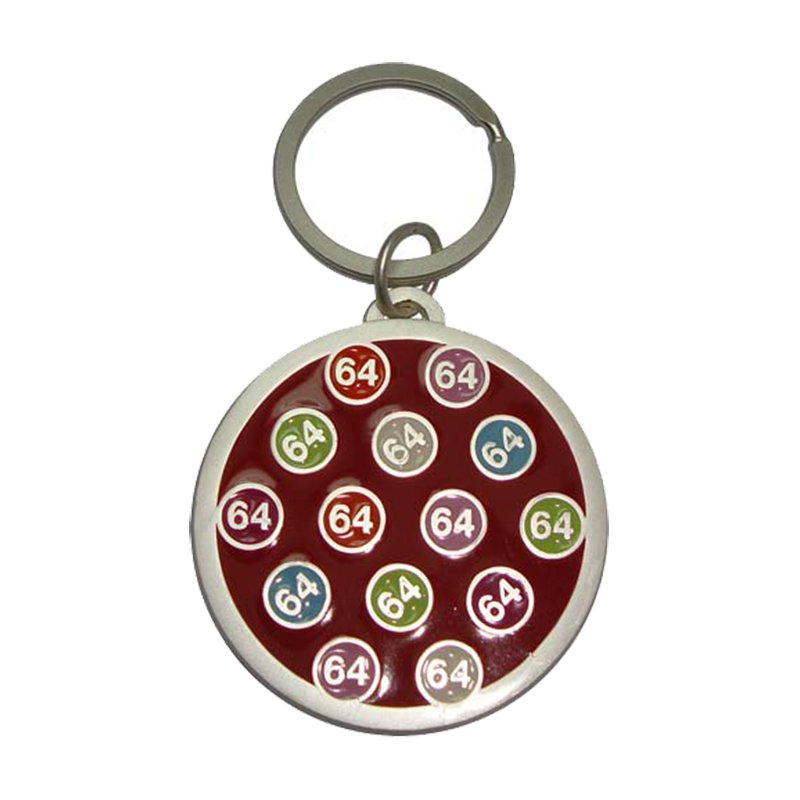 Metal Keychain Promotion Gifts Custom Personalized Key Ring