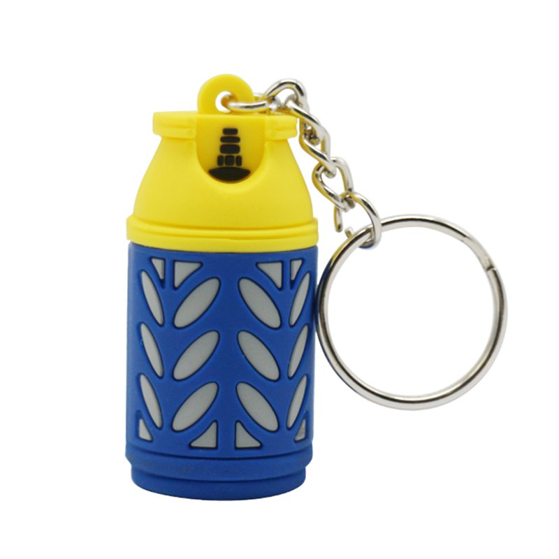 Custom Made Keychain Soft 3D Rubber Pvc Key Chain Factory