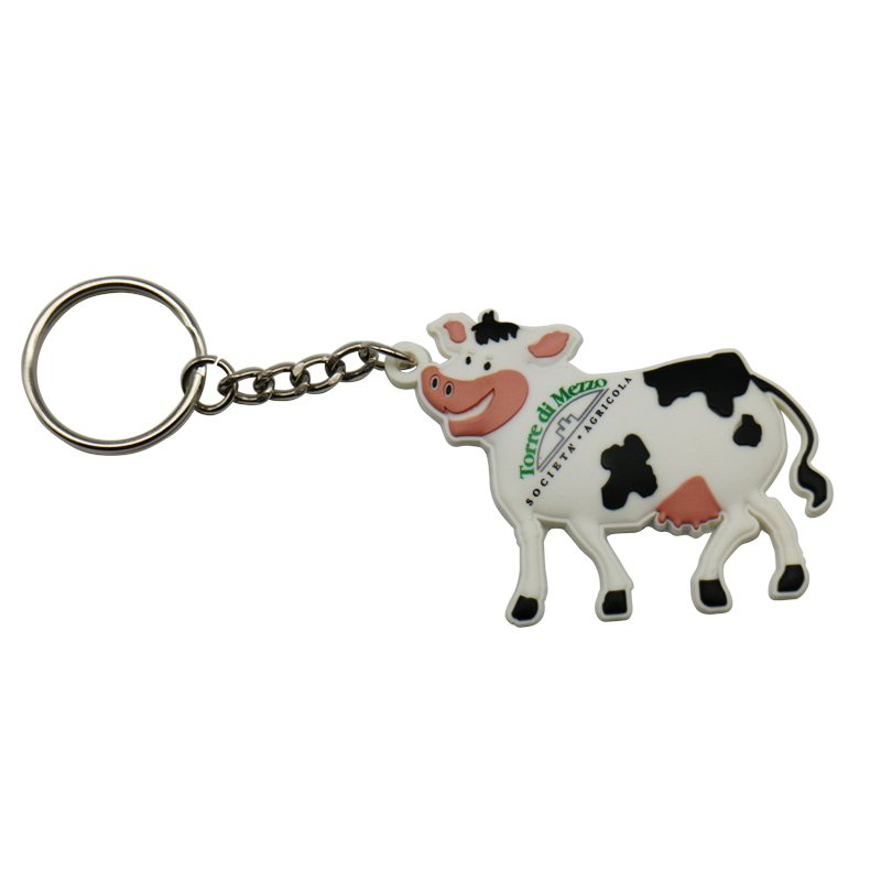 Pvc Keyring Soft Pvc Keychain Custom Car Logo Key Chain