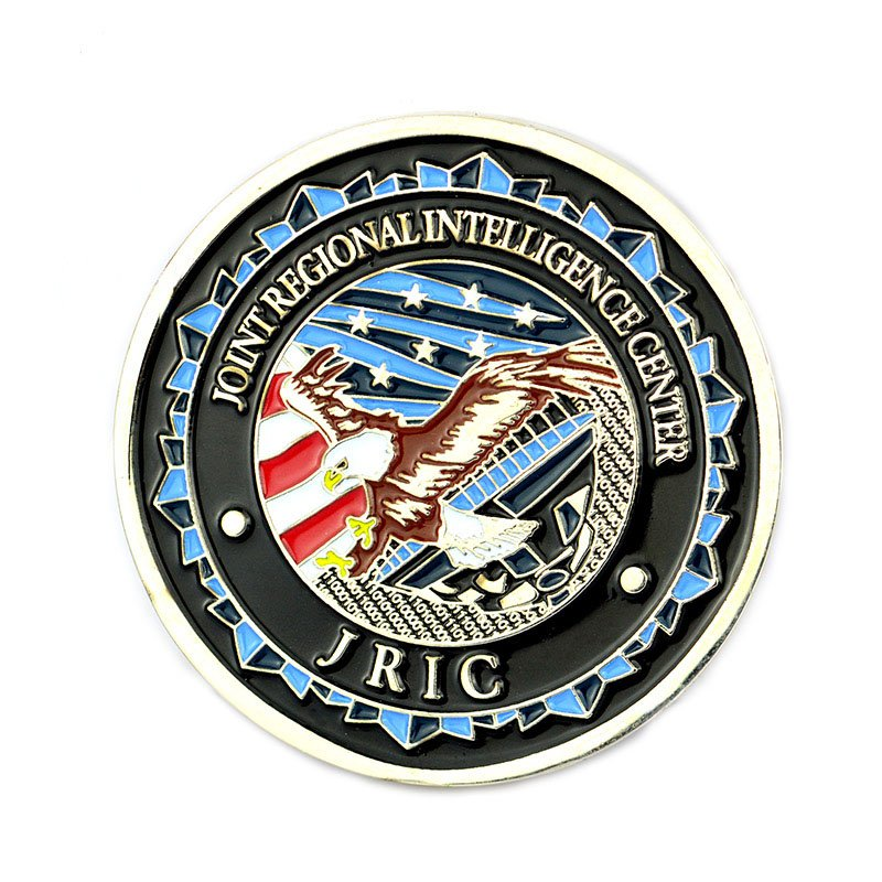 Custom American Eagle Coin Enamel Metal Souvenir Coin