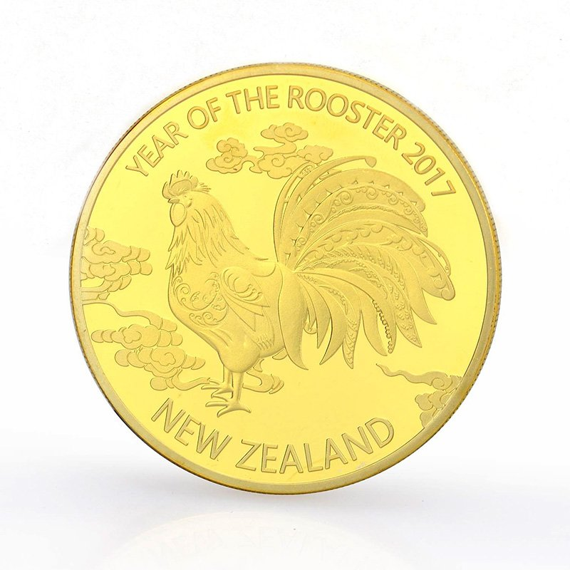 Custom Gold Coin Mold Bulk Double Side Metal Stamping Coin