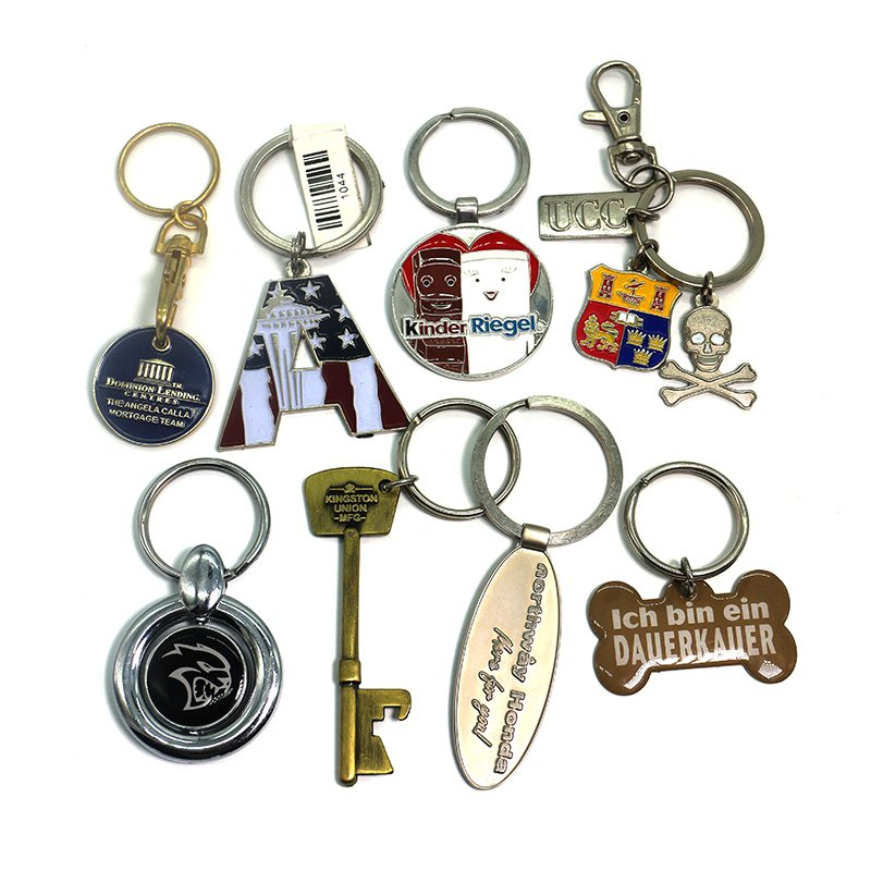 Custom Engraved Keychains No Minimum Bulk Metal Key Chain