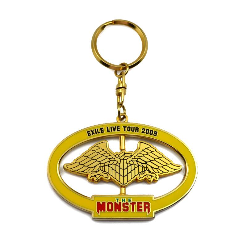 Custom Personalized Metal Keychains Cheap Fashion Key Chain