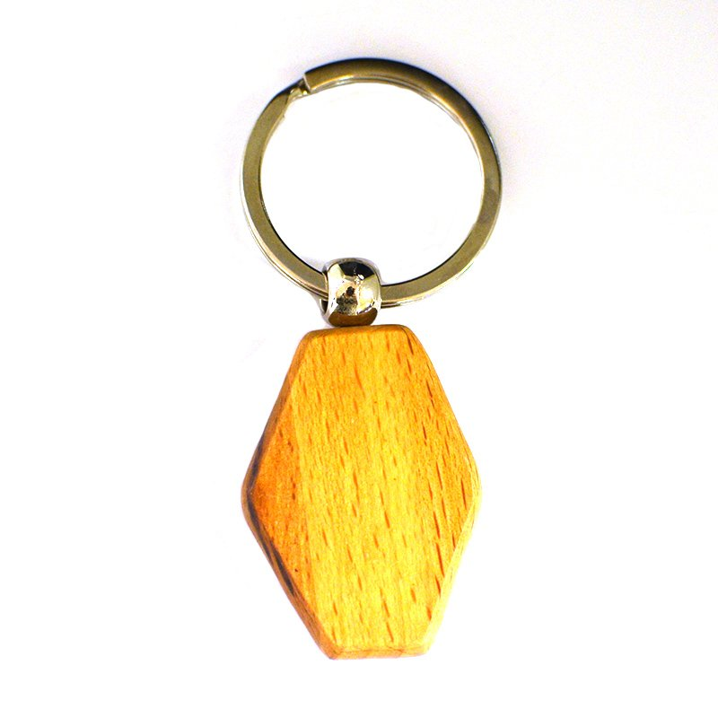 Custom Laser Wood Key Chain Blank Keychains For Engraving