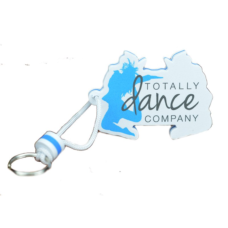 Artigifts Wholesale Floating Key Holder Custom Eva Keychain
