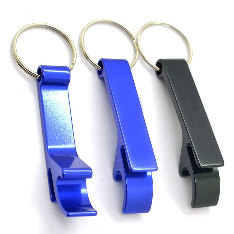 Custom Multipurpose Keychain Aluminum Bottle Opener Key Chain