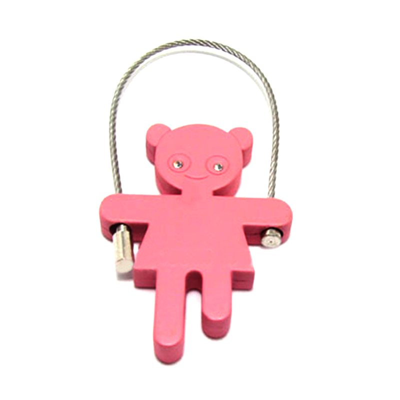 Custom Keychain Names Wholesale Metal Bear Key Chain Ring