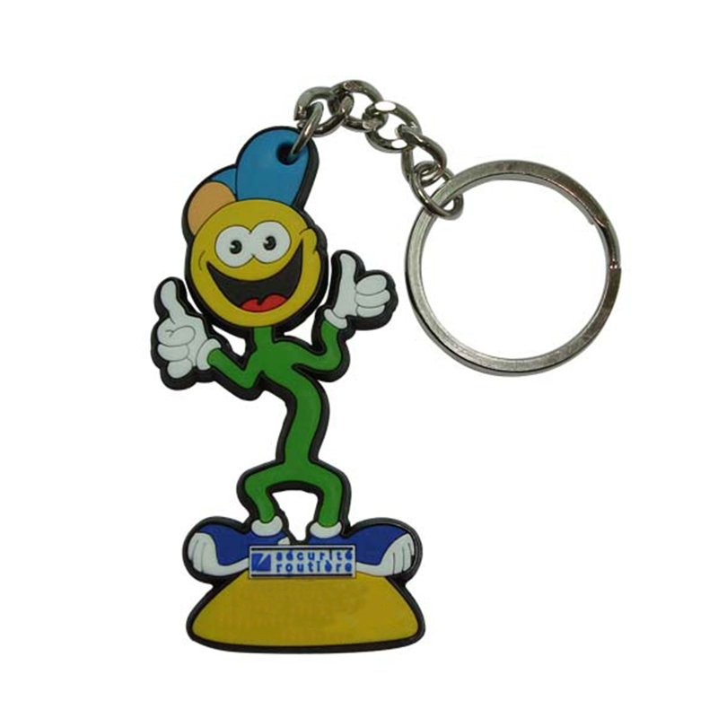 Wholesale Keychain Doll Bulk Custom 3D Key Chain For Kids