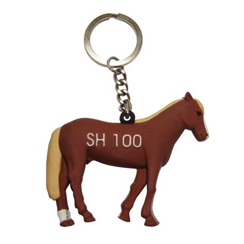Keychain Animal Custom Bulk Pvc Key Chain Rubber Keyrings