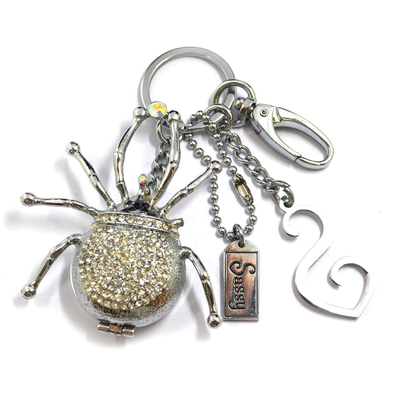 Wholesale Keychain Bling Custom Metal Animal Jewelry Key Chain