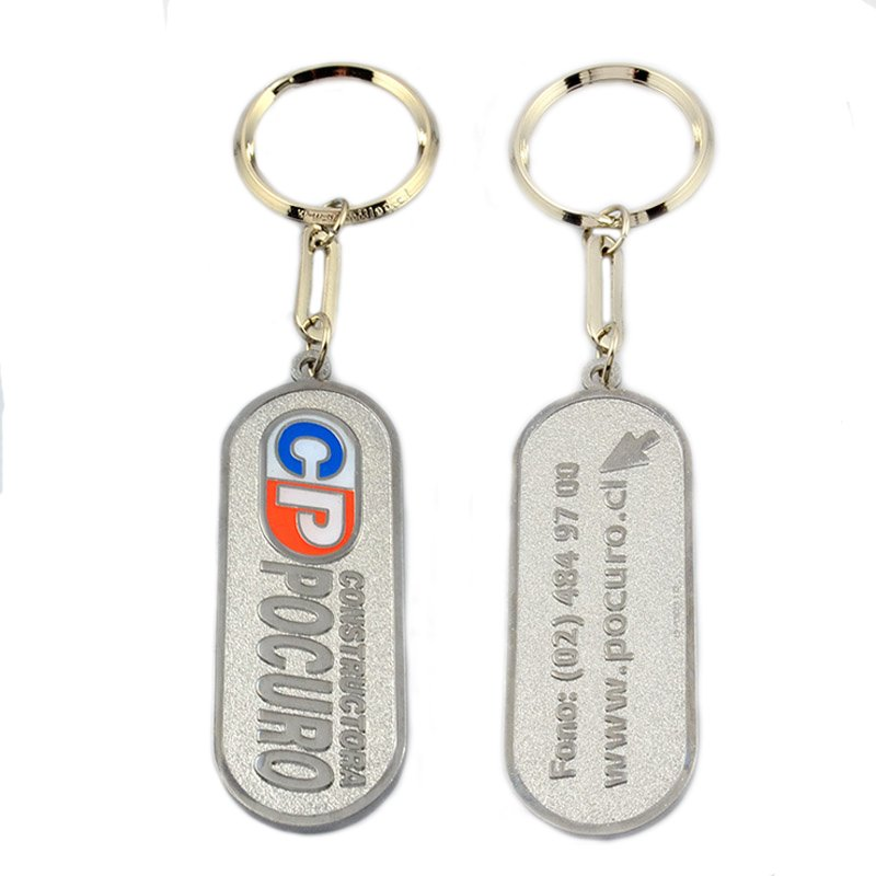 Plain Keychain Metal Key Chain Ring Custom Bulk Blank Keyrings