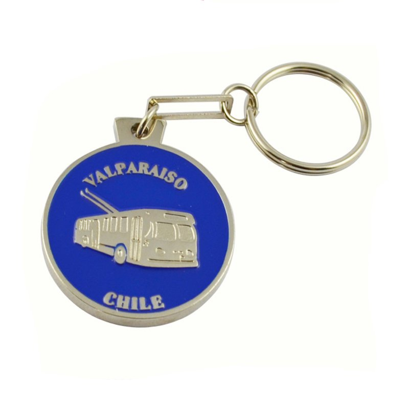 Singapore Keychain Souvenir Key Rings Custom Metal Key Chain