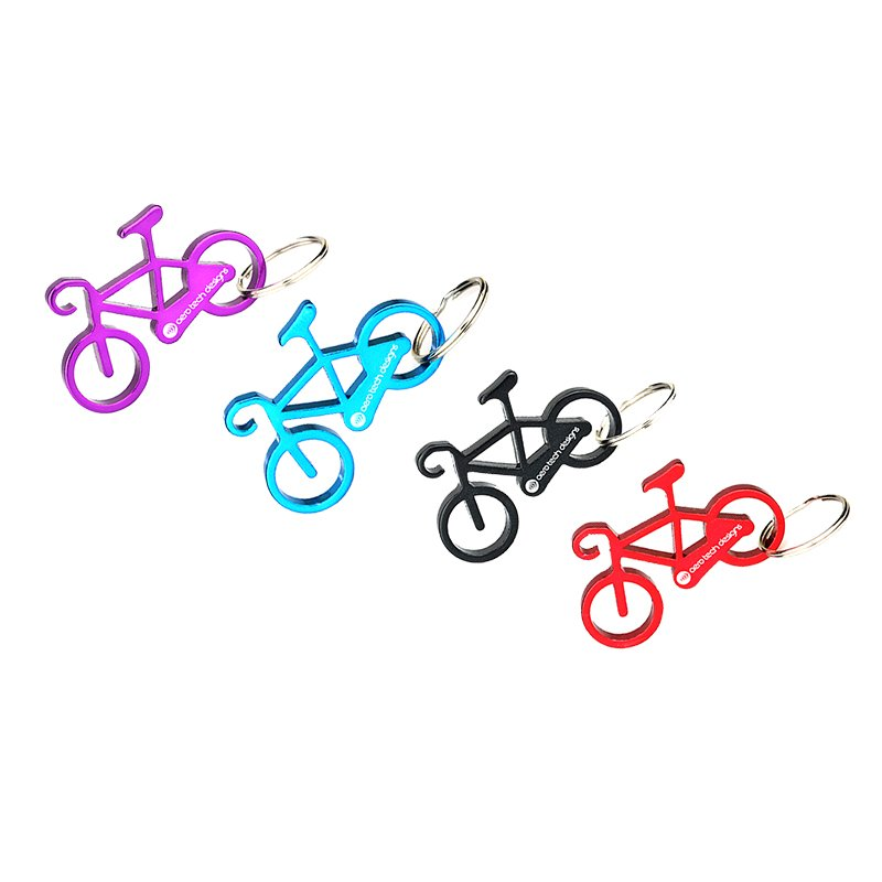 Keychain Bike Custom Aluminum Bottle Opener Key Chain Openers
