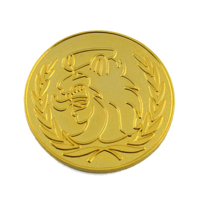 Factory Sale Coins Russia Custom Metal Die Cut Gold Coins To Buy