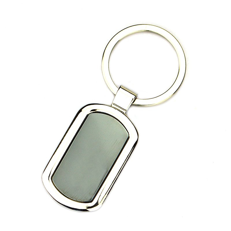 Manufacture Sale O Ring Keychain Custom Metal Blank Key Chains