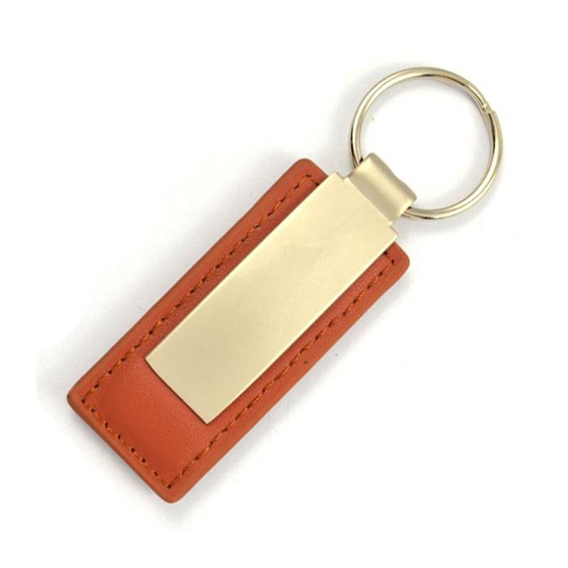 Pu Key Rings Online Custom Cheap Metal And Leather Keychains
