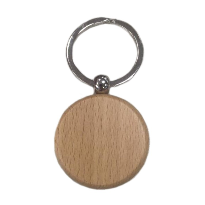 Wood Keychain Custom Wooden Key Chains Bulk Key Ring With Name