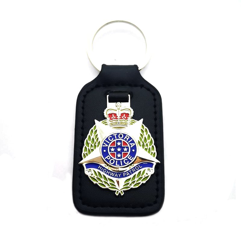 Custom Pu Key Chains Metal And Leather Keychain For Car Keys