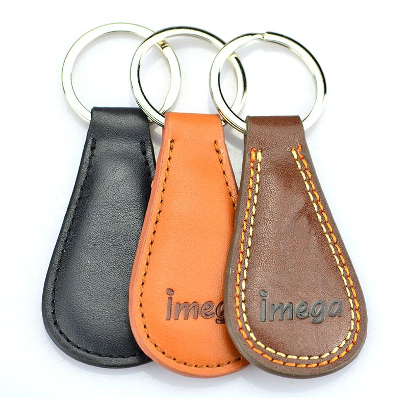 Personalized Leather Keychain Custom Advertising Pu Key Chains